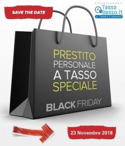 black friday prestiti